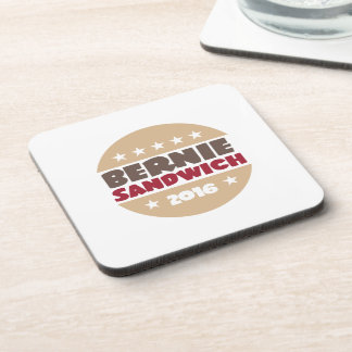 Bernie Sandwich Beverage Coaster