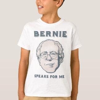 Bernie Speaks for Me T-Shirt