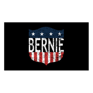 BERNIE stars and stripes Double-Sided Standard Business Cards (Pack Of 100)