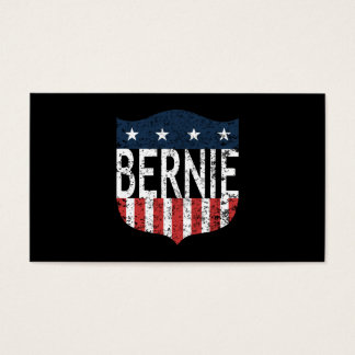 BERNIE stars and stripes Business Card
