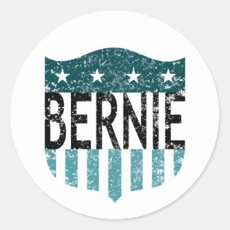 BERNIE stars and stripes Classic Round Sticker
