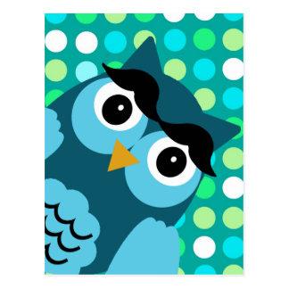 Bernie the Owl Postcard