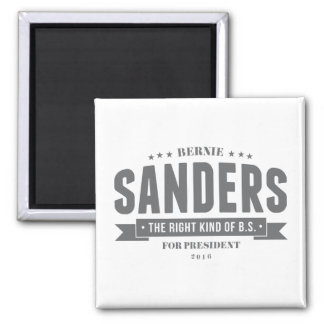 Bernie: The Right Kind of B.S. Magnet