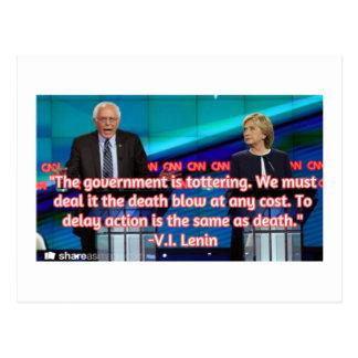 Bernie Tottering postcard
