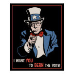 Bernie Wants You Poster