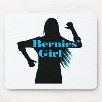Bernies Girl Bernie Sanders Mouse Pad