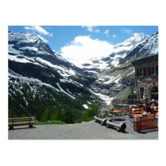 Bernina Pass Postcard