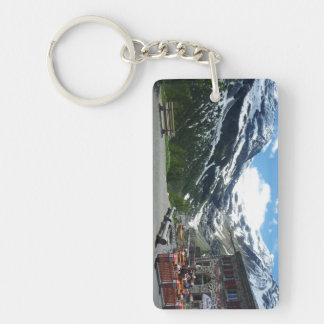 Bernina Pass Switzerland Keychain
