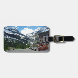 Bernina Pass Switzerland Luggage Tag