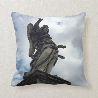 Bernini Angel Pillow