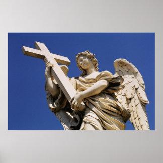 Bernini Angel Poster