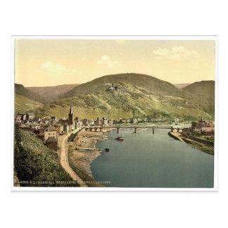 Bernkastel (i.e., Bernkastel-Kues) and Burg Landsh Postcard
