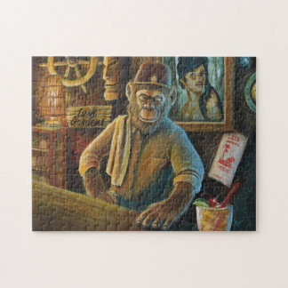 Berns At The Lush Gardens Jigsaw Puzzle