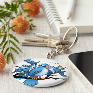 Berns of Afeather - Birdie Sanders Keychain