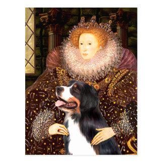 Bernsese & the Queen Postcard