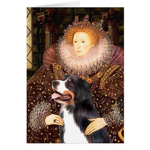 Bernsese y la reina tarjetas