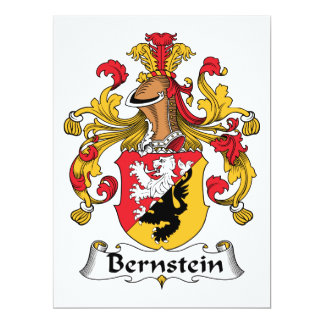 Bernstein Family Crest Card