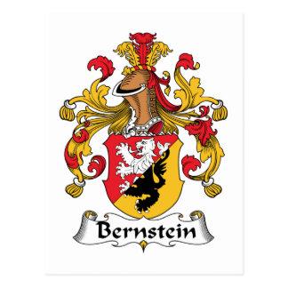 Bernstein Family Crest Postcard
