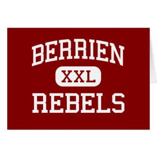 Berrien - Rebels - High School - Nashville Georgia Greeting Card