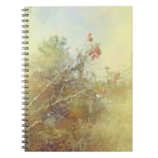 Berries and Branches Yellow Journal