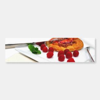 Berries And Cinnamon Rolls Bumper Sticker