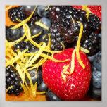Berries and Citrus Print