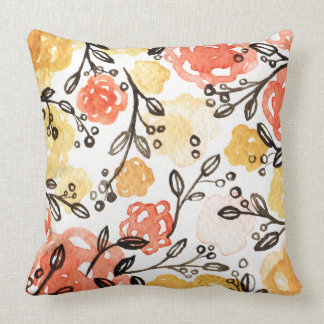 Berries and Florals Pillow