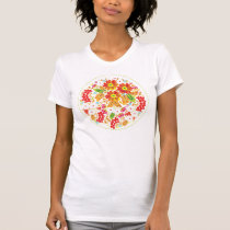 Berries and Flowers T-Shirt