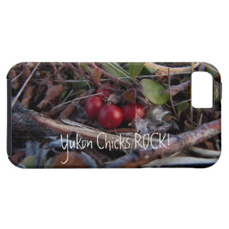 Berries and Twigs; Yukon Chicks ROCK! iPhone SE/5/5s Case