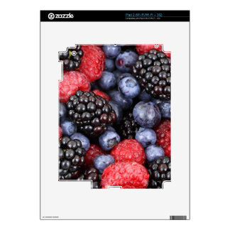 berries background decal for the iPad 2