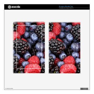 berries background kindle fire decal