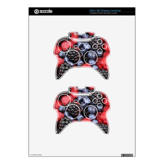 berries background xbox 360 controller skins