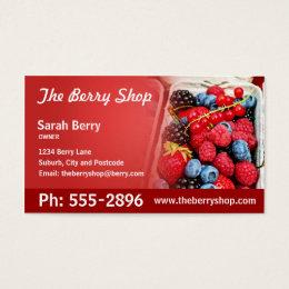 Berries Business Card