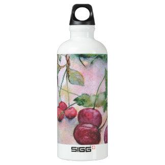 Berries. Cherry Water Bottle