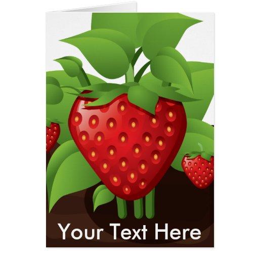 Berries Greeting Cards