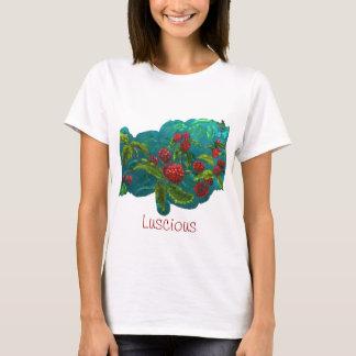 Berries in Green T-Shirt