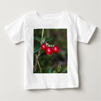 Berries of a wild lingonberry (Vaccinium vitis-ide Baby T-Shirt