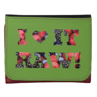Berries, Raw foods Wallet