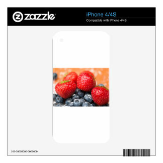 Berries Skins For The iPhone 4S