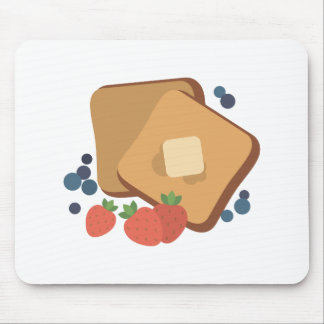 Berries & Toast Mouse Pad