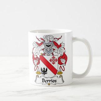 Berrios Family Crest Classic White Coffee Mug
