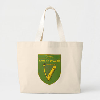 Berry 1798 Flag Shield Large Tote Bag