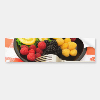 Berry And Cottage Cheese Salad Bumper Sticker