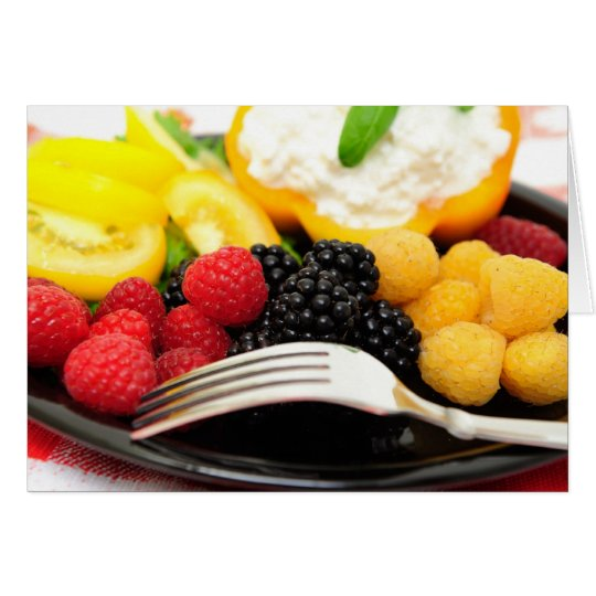 Berry And Cottage Cheese Salad Card