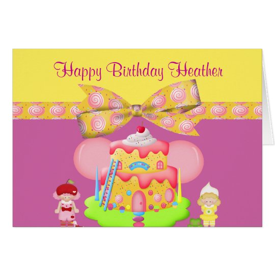 Berry Babies & Goodies Girly Birthday Card
