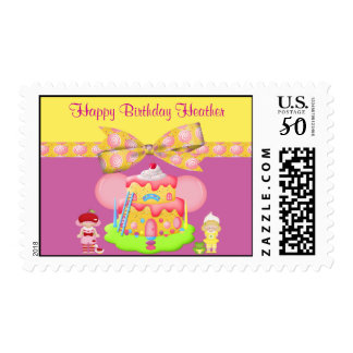 Berry Babies & Goodies Girly Birthday Postage