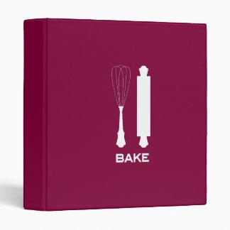 "Berry ""Bake"" Recipe Binder"
