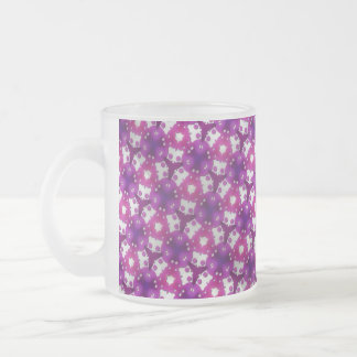 Berry Bliss Frosted Glass Coffee Mug