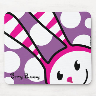 Berry Bunny - Peek-A-Boo Mouse Pad