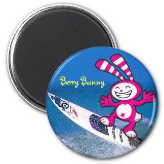 Berry Bunny - Surfari Magnets